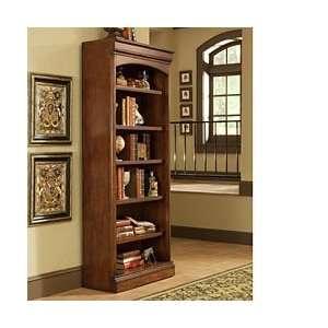 Golden Oak Villa Tuscano 32x79 Open Bookcase