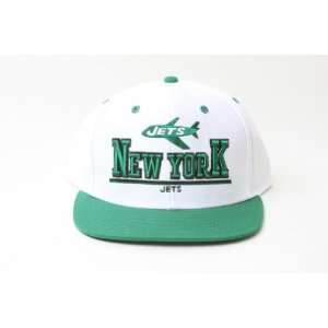 NFL New York Jets 3D Snapback Hat  White and Green