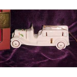 Lenox Holiday Fire Engine Christmas Ornament NEW in Box