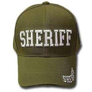 SHERIFF BASEBALL CAP LAW ENFORCEMENT POLICE ADJ