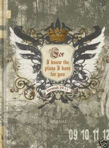 Teen Boys Journal For I Know The Plans Jeremiah 2911 Eagle Wings