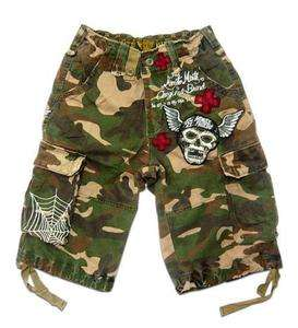 Minute Mirth Cargo Shorts (VARIOUS SIZES) camouflage BROWN Lightning