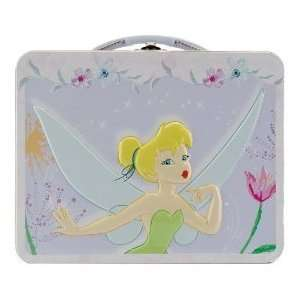 Disney Princess Tinkerbell Child Tin Lunch Box Bag Office