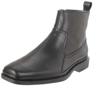 Barker Black Side Zip Pull Up Casual Fashion Dress Boots Shoes