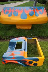 CLUB CAR 1982 Up CUSTOM Paint Job Front Rear Body COWL golf cart Ez go