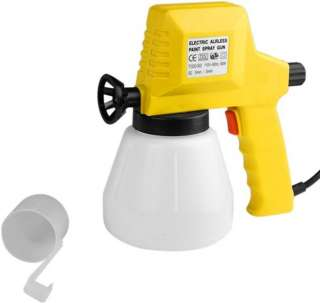 in box our hand held electric airless spray gun is perfect for small