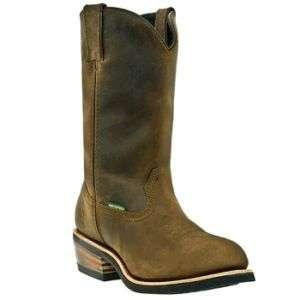 Dan Post Mens Brown Waterproof Albuquerque Cowboy Boot
