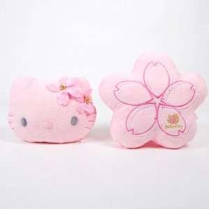 Hello Kitty Auto Car Neck Rest Cushion 2pcs Pink