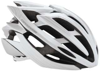 Bicycle Bike Helmet   L/XL   Gloss White + Silver   2HE02L/WTS
