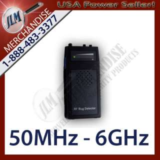Wireless RF Camera Cell Phone GPS Bug Signal Frequency Detector 50MHz