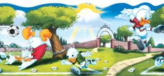 DONALD DUCK DISNEY MICKEY MOUSE WALLPAPER BORDER S. AD
