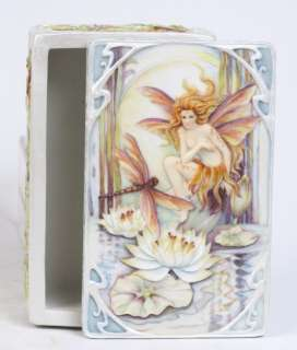 JODY BERGSMA ART WILD MAGIC FAIRY JEWELRY BOX 7238