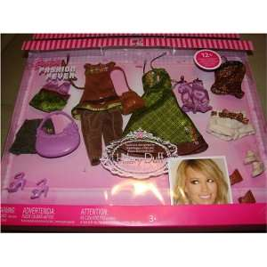 Barbie Fashion Fever Celebrity Closet Hilary Duff #3 Toys