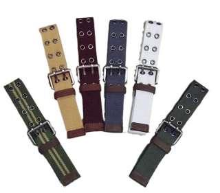 Canvas web belts Mens belt Womens Waist Belt Hot Sale