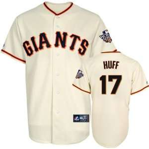 Aubrey Huff Youth Jersey San Francisco Giants #17 Home