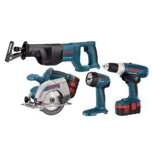 Factory Reconditioned Bosch 3860CFK RT 18 Volt 3 Tool