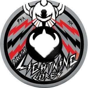 Darkstar Lightning Core Bolt 52mm Grey/Black Wheels (Set