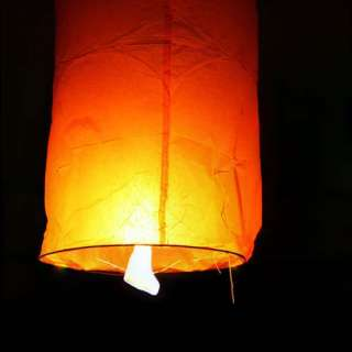 10×8 COLOR column Lanterns Chinese paper wish lamp sky candle flying