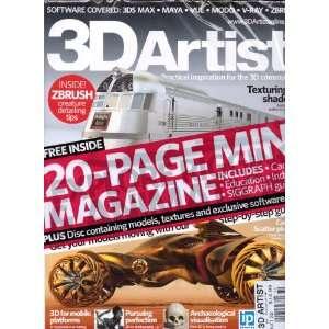 3D Artist Magazine. Free 20 page mini magazine. #32 2011