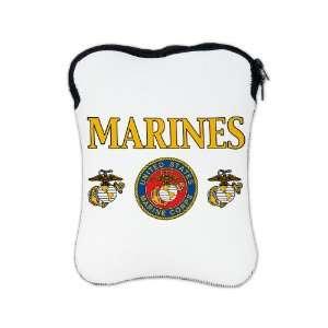 iPad 1 2 & New iPad 3 Sleeve Case 2 Sided Marines United States Marine