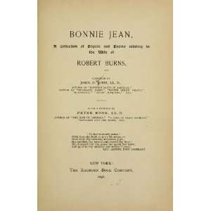Bonnie Jean, A Collection Of Papers And Poems Relating To The Wife Of