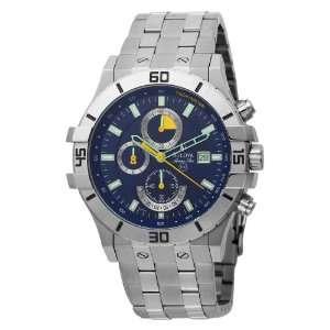 Bulova Mens 96B115 Marine Star Blue Dial Chronograph Watch: Bulova
