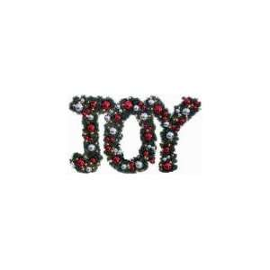 4 Seasons Global/Psm Group 24 Pvc High Joy Wreath Joy2