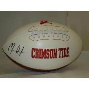 MARK INGRAM Autographed Alabama Crimson Tide Football
