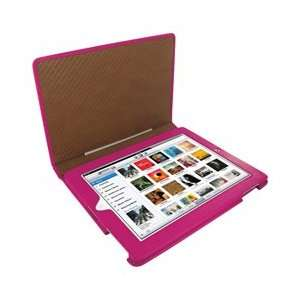 Frama iPad 2 / The New Ipad 3 Pink Magnetic Leather Case for Apple