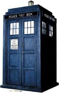 Dr WHO TARDIS TIME MACHINE Lifesize Cardboard Standup
