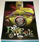 2005 daytona beach FL bike week original Motorcycle new poster