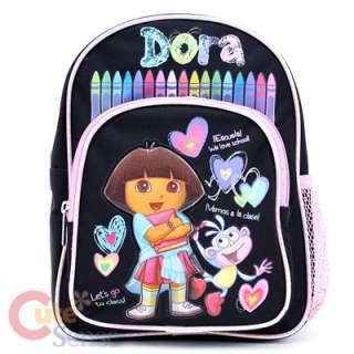 Dora The Explorer Dora & Boots School Backpack ,Toddler Small Bag 10in