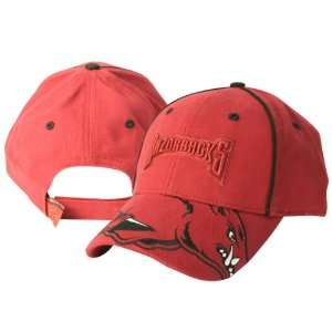 Arkansas Razorbacks Hog Bill Adjustable Baseball Cap