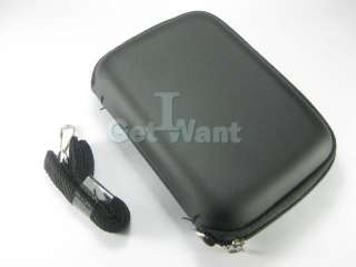 Universal Hard Cover Case Bag Pouch For Digital Camera Black