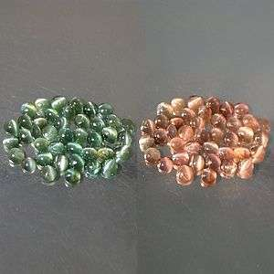 Green/Purple Red ALEXANDRITE Cats Eye Round Cab 3mm