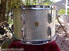 1968 LUDWIG 13 SILVER SPARKLE RACK or RIDE TOM for DRUM SET LOT#K310