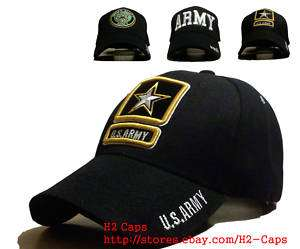 US Army Star Hat Cap 3D Logo Embroidered Military Patch
