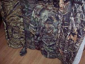 BULK Camo 1x1 rib knit cotton Realtree Hardwood Advantage Wetlands