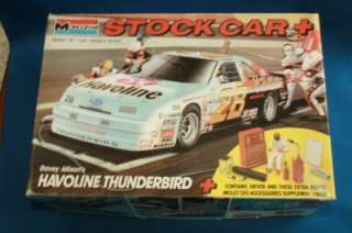 MODEL KIT 2916 1:24 NASCAR DAVEY ALLISON 28 HAVOLINE THUNDERBIRD OPEN