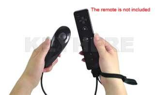 Nunchuk Controller For Nintendo Wii Left Console Black