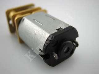 3V 15RPM Torque Gear Box Motor New