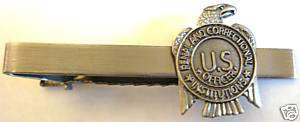 PRISON GUARD Jail Corrections Mini Badge Tie Bar Clip