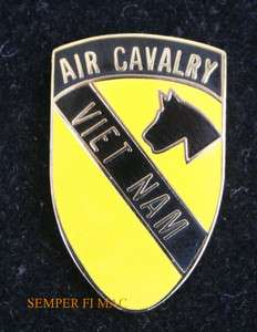 1st Cavalry Division Vietnam HAT PIN