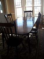 ROOM SET TABLE/4 CHAIRS/HUTCH/2 LEAVES SOLID MAPLE WOOD PICKUP