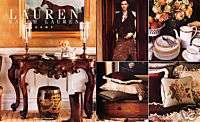 2004 Ralph Lauren Home Furniture China magazine ad