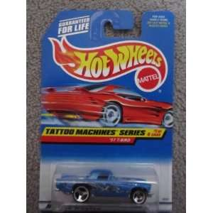 1997 Hotwheels #1 of 4 Tattoo Machines Series 57 T Bird