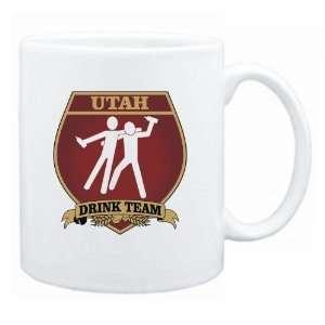 New  Utah Drink Team Sign   Drunks Shield  Mug State