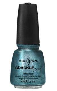 China Glaze CRACKLE METALS Shatter Nail Polish FULL SET