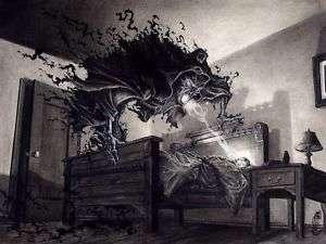 Grey Magic Nightmare Curse Spell Bad Dreams 4 UR Enemy