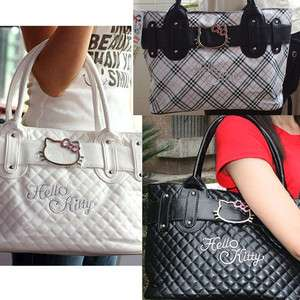 Hellokitty shopping hand bag PU leather Lady Tote Purse